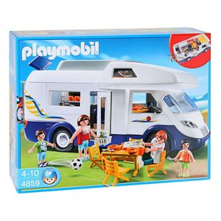 Playmobil Grand Camping Car   Achat / Vente UNIVERS MINIATURE COMPLET