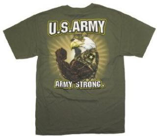 US Army T shirt Army Strong Eagle Clothing