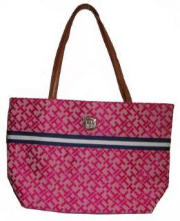 Womens Tommy Hilfiger Small Tote Handbag (Pink Alpaca