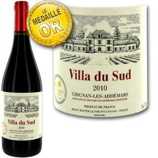 2010   Achat / Vente VIN ROUGE Villa du Sud 2010