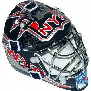 Henrik Lundqvist New York Rangers Autographed Mini Goalie