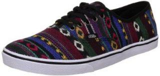 Vans Authentic Lo Pro Black Guate Trainers Shoes