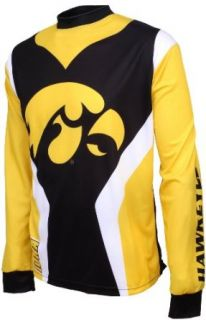 NCAA Iowa Hawkeyes Mountain Bike Cycling Jersey (Yellow