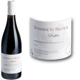 Dom. St Nicolas Reflets Rouges Fiefs Vend. 2010   Achat / Vente VIN