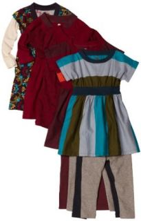 Tea Collection Girls Que Bonita 5 Piece Set, Multi Colored