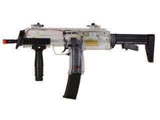 H&K MP7 AEG Airsoft Submachine Gun, Clear airsoft gun