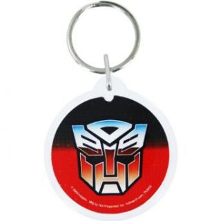 Transformers Autobot Round Acrylic Key Chain: Clothing