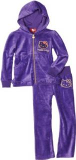 Hello Kitty Girls 7 16 Mini Sequins On Velour Active Set