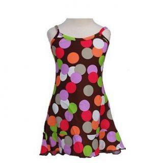ANITA G Little Girls Designer Clothes Brown Spring Dress