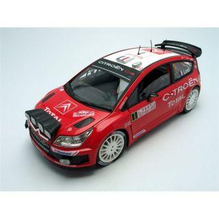 Citroën 1/18 C4 WRC   Monte Carlo 2007   Achat / Vente MODELE REDUIT