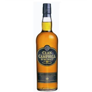 Clan Campbell 10 ans (70cl)   Achat / Vente Clan Campbell 10 ans (70cl