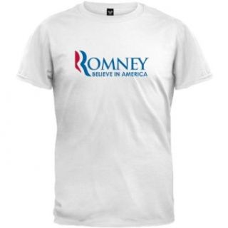 Mitt Romney   Believe In America T Shirt Clothing