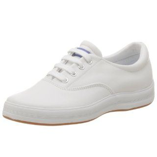 Keds Womens Andie Leather Sneaker,White Leather,7.5 M Shoes