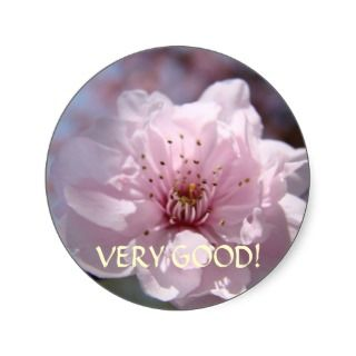 very good stickers spring blossoms pink tree blossoms stickers sticker