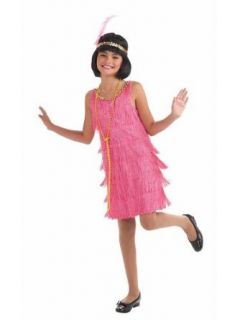 Little Miss Flapper Costume   Child Large Clothing