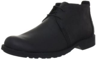 ® City Lite Plain Toe Chukka,Black Full Grain Leather,US 8 W Shoes