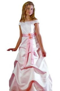 KID Collection Girls Pink Flower Girl Pageant Dress Sizes