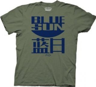 Joss Whedon Serenity Blue Sun Logo Mens T Shirt Clothing