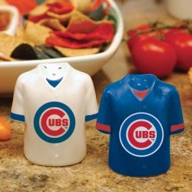 Chicago Cubs MLB Gameday Jersey Salt And Pepper Shakers
