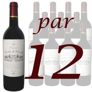de 12 bouteilles)   Vin rouge   Sud Ouest   Bergerac   12 x 75cl