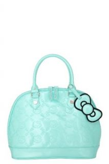 Loungefly   Hello Kitty Mint Patent Embossed Bag Clothing