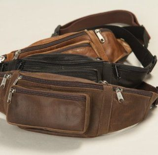 Bison Hide Concealed Carry Slim Waist Pack Sports