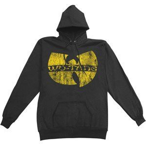 Rockabilia Wu Tang Clan Logo Pullover Hooded Sweatshirt