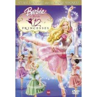 BARBIE  Au bal des 12 princesses en DVD DESSIN ANIME pas cher