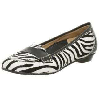 Lisa Haircalf Ballet Moccasin,Zebra Pony,35 EU (US Womens 5 M) Shoes