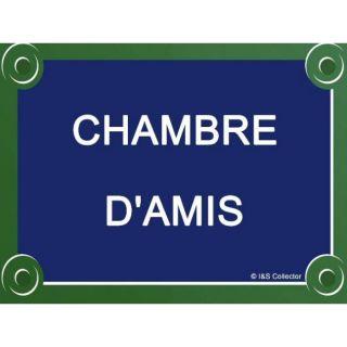 PLAQUE DE RUE MEAL 20X15cm CHAMBRE DAMIS   Acha / Vene ABLEAU