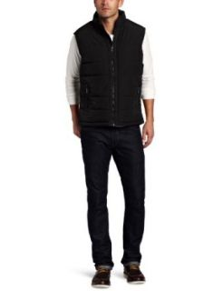 Kenneth Cole Mens Puffer Vest Clothing