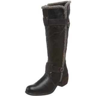 Co Womens Sala Shearling Knee High Boot,Black,36 M EU / 5 B(M) Shoes