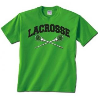 Lacrosse Crossed Sticks Short Sleeve Lacrosse T Shirt