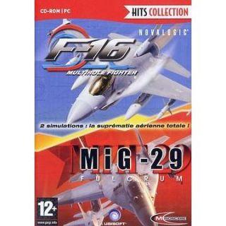 16 + MIG 29   Achat / Vente PC F 16 + MIG 29