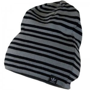 Originals Black Grey Stripe New Mens Womens Unisex Beanie Hat Shoes