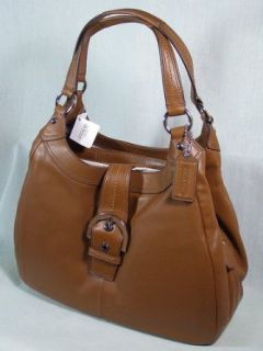 Coach Soho Leather Large Shoulder Hobo Bag Purse tote