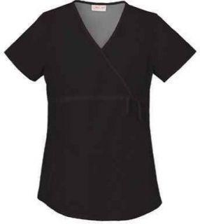 Cherokee 2892 Womens Flexibles Maternity Wrap Scrub Top