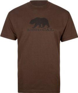 NOR CAL Black Bear Mens T Shirt Clothing