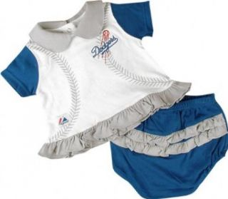 Los Angeles Dodgers Baseball Baby Two Piece Outfit   3/6