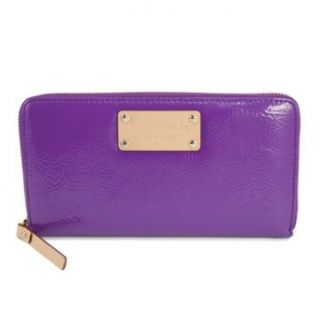 Kate Spade Meribel Neda Zip Around Patent Leather Wallet