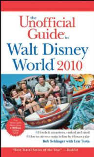 Unofficial Guide to Walt Disney World 2010 (Paperback)