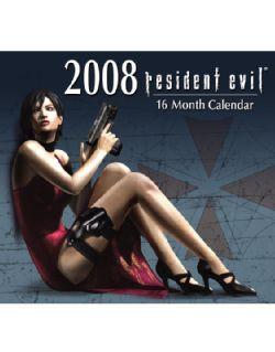 Resident Evil 2008 Calendar