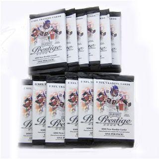 Playoff Prestige 2008 NFL Trading Cards (Case of 12 Packs)