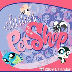 Littlest Pet Shop 2009 Calendar (Paperback)