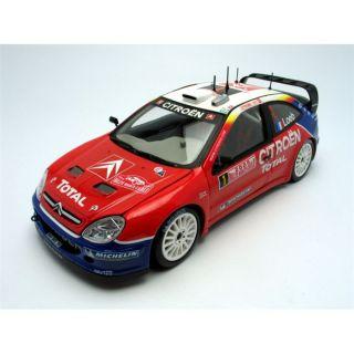 MODELE REDUIT MAQUETTE SUNSTAR 1/18 CITROEN Xsara WRC   Winner Rallye