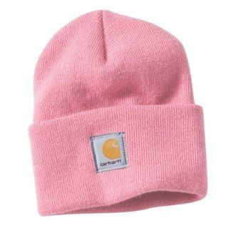 Carhartt Womens Acrylic Watch Cap Rose Pink Beanie Ladies