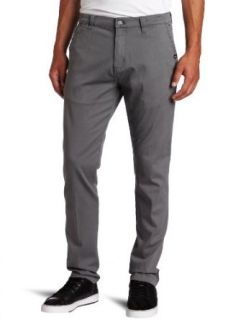 Quiksilver Young Mens Slacker Chino Slim Tapered Fit Pant