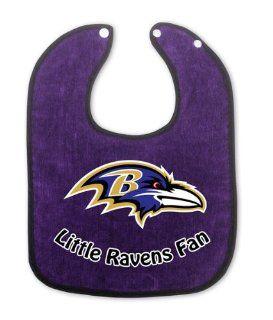 Baby Fanatic NFL Baltimore Ravens Baby Fanatic Bib Sports