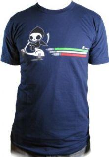 Tokidoki Mens Motorino Adios Navy T shirt (M) Clothing