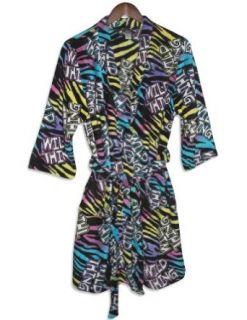 Fancy Girlz   Junior Girls Plush Fleece Wild Thing Robe